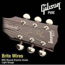 Cuerdas Gibson Pure Brite Wires 09 - 42 !
