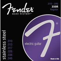 Encordado Guitarra Electrica Fender Stainless-steel 010