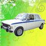 Calcomania Decoracion Fiat 128 Iava 1974