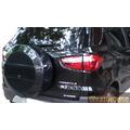 Cubre Rueda Ford Ecosport Kinetic Pintado Negro Brillante