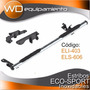 Estribo Inoxidable Eco-sport 1.65mts 3 + Soportes (bracco)