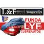Funda Cubre Coche Impermeable Blue Nylon Talle S Lyf 3006s