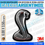 Calcomanias 3d Con Relieve, Accesorio Autos Serpiente