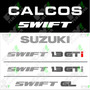 Calcos Suzuki Swift Gti Porton Trasero - Calcomania Ploteoya