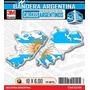 Malvinas Argentinas Grandes Sticker Encapsulado, 3d, Calco