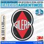 Calcomanias, Stickers, Domes Resinados 3d Logo Gilera