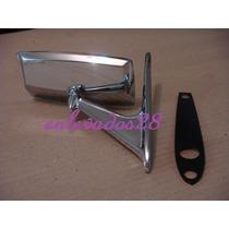 Espejo Cromado Ideal Fiat 128/125/600/133 Etc Original!