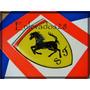 Ferrari Calco-escudo-insignia Adhesiva Resinada!!!