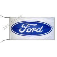 Ford * Banderas A Eleccion * 150x75 Cm Con Cintas Para Atar