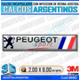 Emblema Con Relieve Peugeot Sport La Mejor Calidad Del Pais