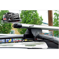 Barras Portaequipaje Aluminio Con Cerradura Chevrolet Spin