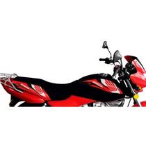 Funda Honda 125 Storm Tanque Tsl Plateada