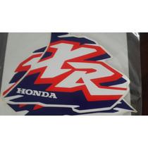 Juego De Calcos Honda Xr 250 Xr 600 1996. Replica