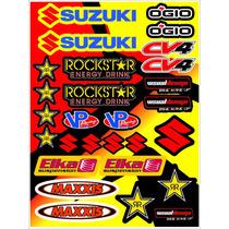 Kit De Calcos Laminados - Honda - Yamaha - Kawasaki - Suzuki