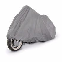 Funda Cubre Moto Premium Doble Tela Felpa Int. Impermable