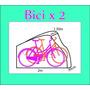 Funda Para 2 Bicicletas Impermeable Funda Doble Cobertora