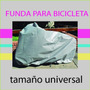 Funda Para Bicicleta, Impermeable, Tamaño Universal + Bolso