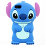 Funda Silicona 3d Stitch Apple Ipod Touch 4g 5g Animada