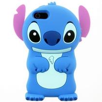Funda Silicona 3d Stitch Apple Ipod Touch 4g 5g Animada