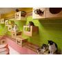 Casas Para Gatos, Refugio Para Gatos, De Mdf (fibrofácil)