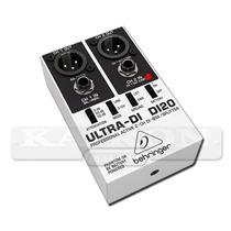 Caja Directa Behringer Ultra-di Di 20