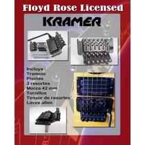 Tremolo Floyd Rose License Con Logo Kramer