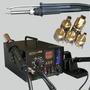 Estación De Soldado Aoyue 968 Digital Con Extractor De Humo