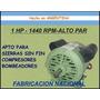 Motor 1hp Compresor-sierra Sin Fin-bombeador Ind. Nacional