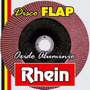 Disco Flap 180 Mm - Oxido De Aluminio - Grano 320 Rhein