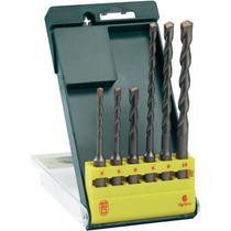 Set Kit Juego 6 Brocas Mechas Sds Plus Bosch 2607019447