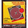 Disco De Fibra Vulcanizada 115mm Black Jack J306#