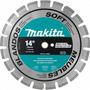 Disco Diamantado Segmentado 14 Makita P/asfalto, Granito
