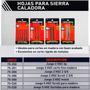 Hojas Sierra Caladora Black Decker X Dos 75-251-253-254-269