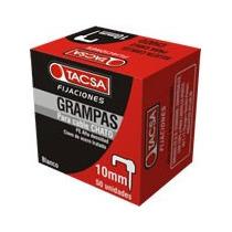 Grampas Tacsa 10mm Bulto De 50 Cajas X50unidades C/u