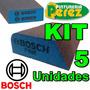 Lija Bosch Esponja Abrasiva Lavable 5 Unidades Todos Modelos