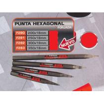 Punta Hexagonal Forjada 350x18mm Versa F283#