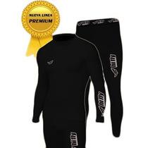 Remera Termica + Pantalon Hifly Alta Calidad Linea Premium