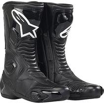 Bota Pista Velocidad Alpinestars Smx 5 Negra S-mx Moto Sur