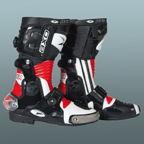 Botas Moto Axo Lancer Pista Profesionales Con Ajuste Aut