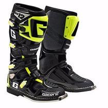 Botas Cross Sg 12 Black-yellow Gaerne - Team Motorace-