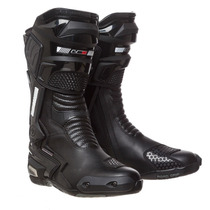 Botas Ls2 Racing Br01 Black Pista Cross Eco Cuero Fas Motos
