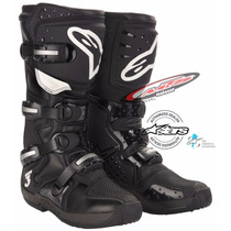 Botas Motocross Enduro Cros Alpinestar Tech 3 Negra Moto Sur