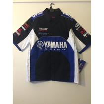 Camisas Oficiales Moto Gp Yamaha,suzuki Y Honda Originales