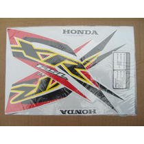 Honda Xr 125l Juego Calcos Repuesto Simil Original
