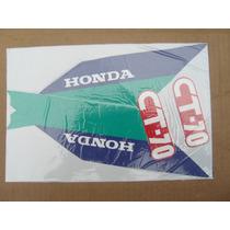 Honda Dax 70 Americana Juego Calcos Repuesto Simil Original
