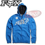 Campera Moto Fox Riptide Zip Celeste Plazamotos