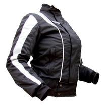 Campera Moto Dama C/protecciones Abrigo Upper Motoscba
