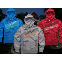 Buzo Capucha Alpinestars Original Underlined Top Racing