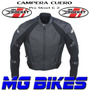 Campera Motos Joe Rocket Cuero Proteciones Pista Mg Bikes