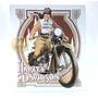 Cuadro Harley Davidson Metálico/relieve Estilo Vintage B R M